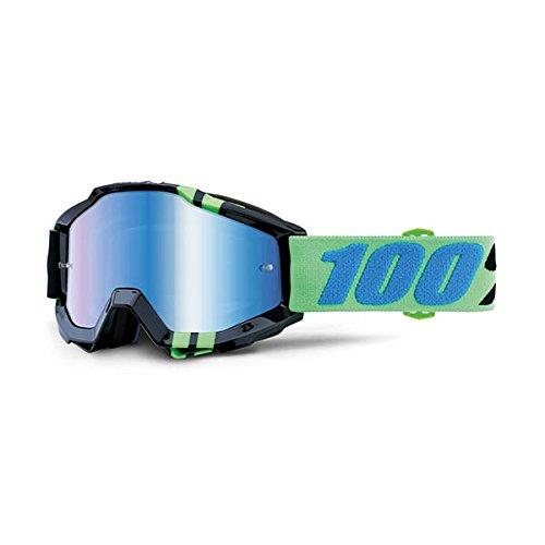 100% Unisex-Adult Speedlab (50210-251-02) ACCURI Goggle Zerg-Mirror Blue Lens, One Size