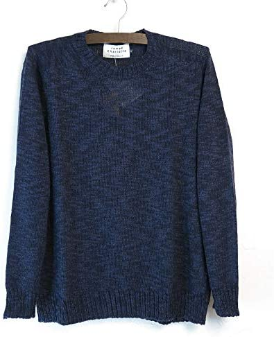 (ジェームスシャルロット) #Cotton Linen Knit Made in England