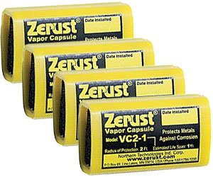 Vapor Capsule - Zerust VC2-1 NoRust Vapor Capsule - Pack of 4