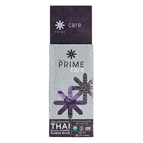 - Prime Care 100% organic THAI Black jasmine SURIN RICE NON-GMO