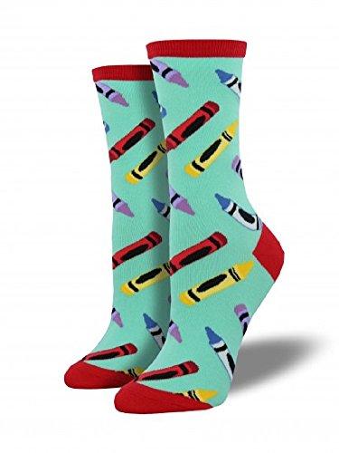 Socksmith Womens' Novelty Crew Socks