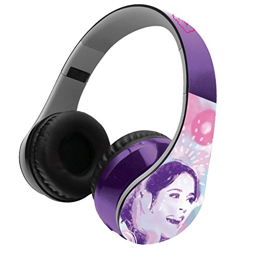 Violetta – Casco estéreo Bluetooth 3.0, Color Morado (Lexibook BTHP400VI)