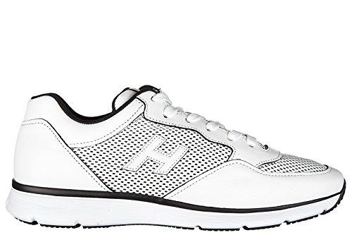 Hogan scarpe sneakers uomo in pelle nuove h254 t2015 h 3d bianco Con Mastercard En Línea xIombdXd