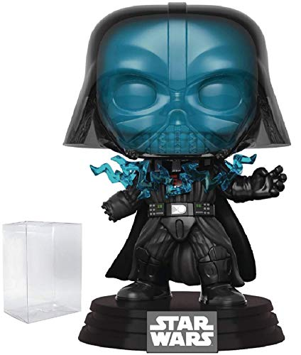 - Star Wars: Return of The Jedi - Electrocuted Darth Vader Funko Pop! Vinyl Bobble-Head Figure (Includes Compatible Pop Box Protector Case)