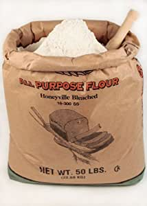Amazon.com : Bleached All Purpose Flour 50 Lbs : Wheat