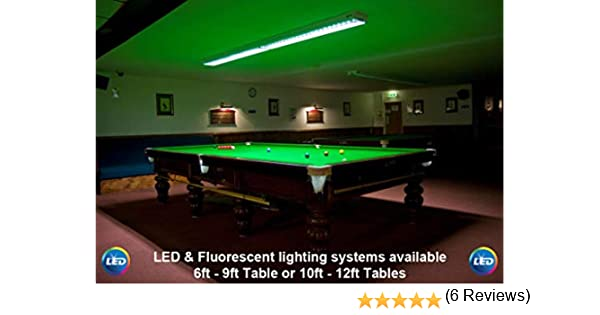 Mesa de Billar Profesional, piscina, LED/iluminación fluorescente ...