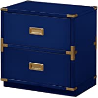 OSP Designs Wellington 2 Cabinet, Lapis Blue