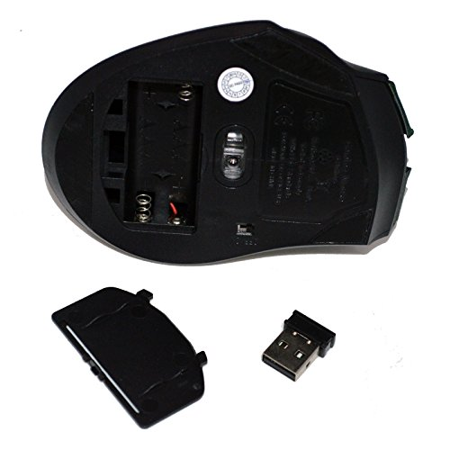 Wireless USB Receiver Optical Gaming Mouse Mice For Pro Game Notebook PC Computer Laptop by Fashionlive (Image #4)