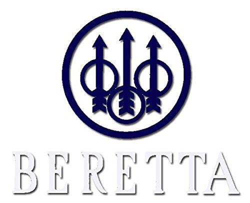 Beretta Window Decal, Blue