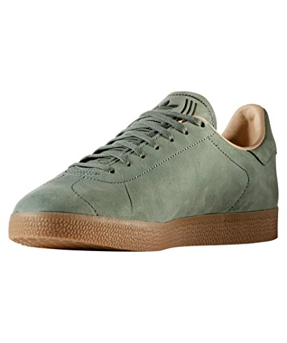Decon Casual Trainers Adidas Shoes Green Lace Mens Gazelle Up Orignals HqtpfU