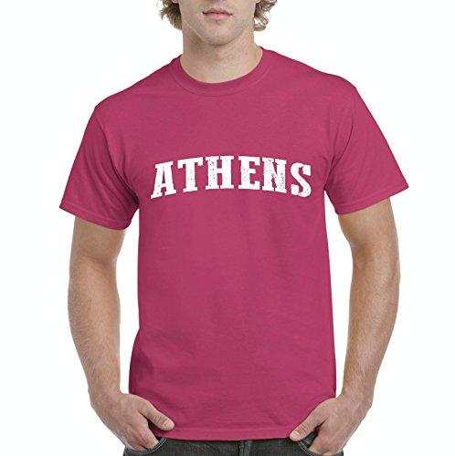 Athens GA Georgia Map Flag Atlanta Global Vity Home Of University Of Georgia UGA Mens - Athens Ga Mens Clothing