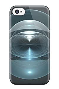 DrORPcC3154hsEZC Case Cover, Fashionable Iphone 4/4s Case - Space Sphere Fractal 02