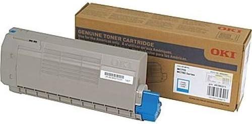 45396211 Genuine 45396211 OEM Cyan Toner Cartridge Supplies Outlet