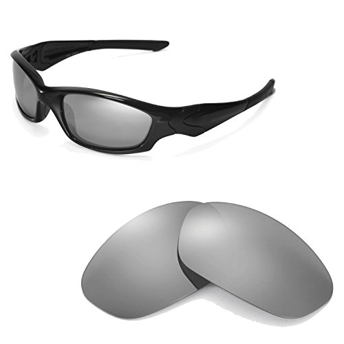 344e5788e1 Walleva Polarized Titanium Replacement Lenses for Oakley Straight Jacket  Sunglasses - Buy Online in Oman.