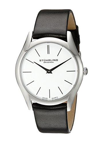 Amazon Lightning Deal 80% claimed: Stuhrling Original Men's Classic Ascot Swiss Quartz Ultra Slim Watch 434.33152