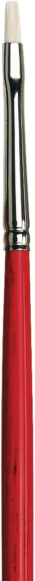 Flat Extra-Short with Red Handle da Vinci Hog Bristle Series 7223 Maestro 2 Artist Paint Brush Size 14