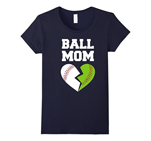 Womens Softball Mom Shirt. Christmas Gift Ideas From Daughter/Son. XL (Mom And Son Costume Ideas)