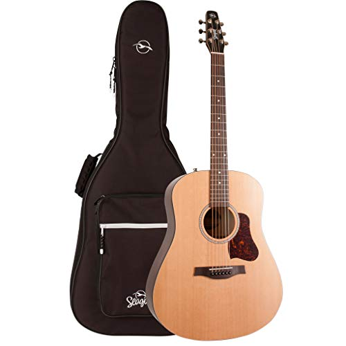 Seagull S6 Original Slim Acoustic Guitar with Gig Bag (46409)