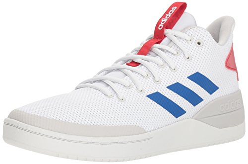 adidas Men's BBALL80S Sneaker, White/Blue/Scarlet,, used for sale  Delivered anywhere in USA