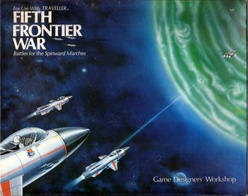 Fifth Frontier War: Battles for the Spinward Marches (Traveller) [BOX SET] ()