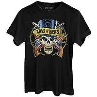 Camiseta Guns n' Roses Logo Skull Masculino