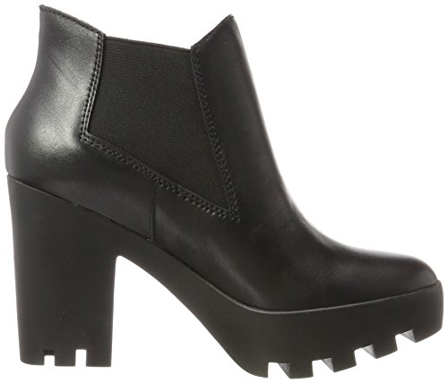 Heels With Black R3494 Jeans Black Klein Calvin Ankle Women Boots CwpCTqY