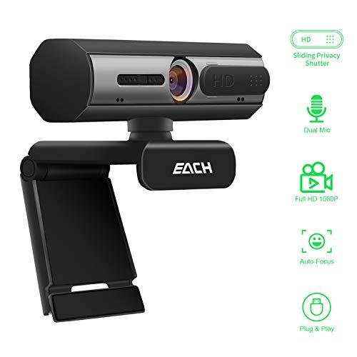 AutoFocus Full HD Webcam 1080P...