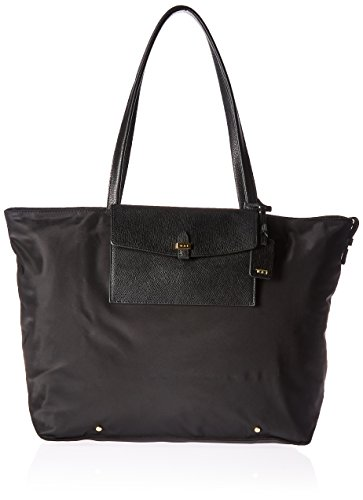Tumi Women's Weekend Foldable Travel Tote, Black, One Size