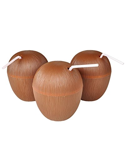 Coconut Luau Drinking Cup (Pack of 12)