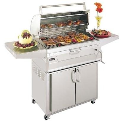 Legacy 22S101C61 Stand Alone Charcoal Grill with Traditional Oven/Hood - Fire Magic Charcoal Oven