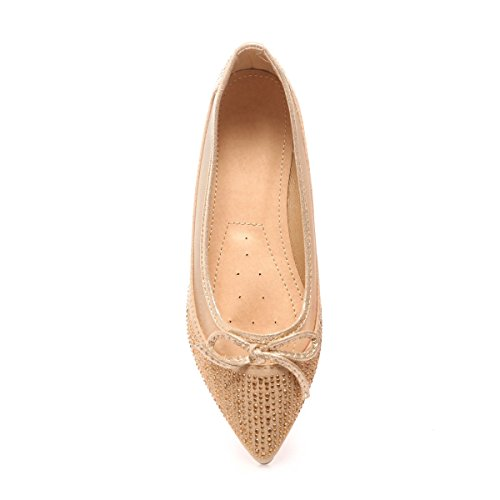 La Modeuse - Bailarinas para mujer dorado