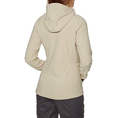 The mod da donna Giacca cerniera North con Vintage Face H lampo White cappuccio e S Mezzaluna X4BqwXr