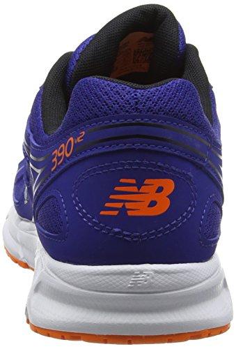 New Balance 390, Zapatillas de Running para Hombre Azul (Blue/Orange 405)