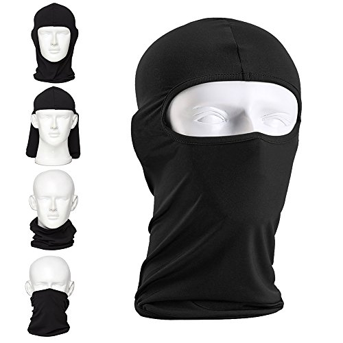 Full Face Mask For Ski, Ultra-thin Breathable -Use As Bal...