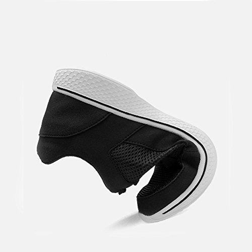 Sigiloso Verano Transpirable Volar Hueco Incremento Malla Los Hombres Cm Aumento 8 De Black Casuales Zapatos Yxlong vPWFYY