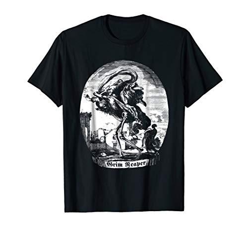 Blackcraft Grim Reaper Cult Dead Inside T-Shirt Metal Goth -