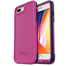 OtterBox Pursuit Series Slim Case for iPhone 8 Plus and iPhone 7 Plus (ONLY) - Retail Packaging - Coastal Rise (Purple/Black)