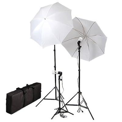 CowboyStudio Photo Studio Soft Reflective Umbrella Continuous Lighting Kits by CowboyStudio