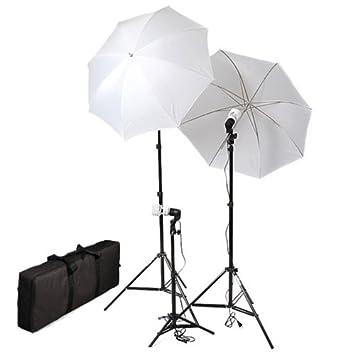cowboystudio pography video portrait umbrella continuous triple lighting kit