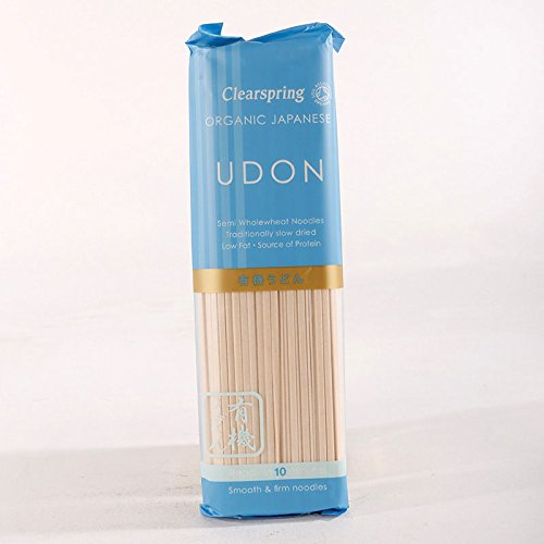 Organic Japanese Udon Noodles 200g x by Clearspring Wholefoods