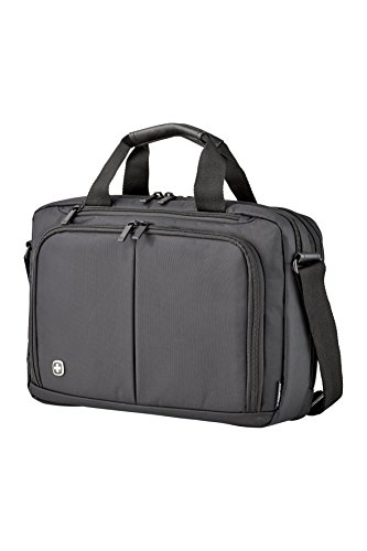 "Wenger Luggage Source 14"" Brief Laptop Bag, Black, One Size"