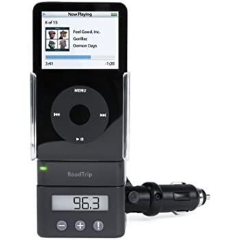 Griffin RoadTrip FM Transmitter and Car Charger for iPod (Black)