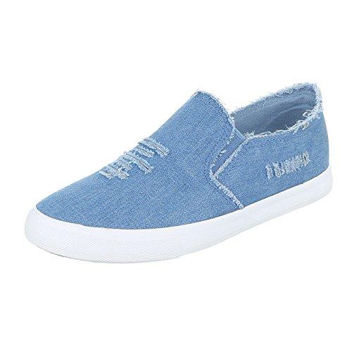 Ital-Design - Zapatillas de casa Mujer Blau 6323-Y