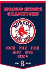 MLB Boston Red Sox Dynasty Banner