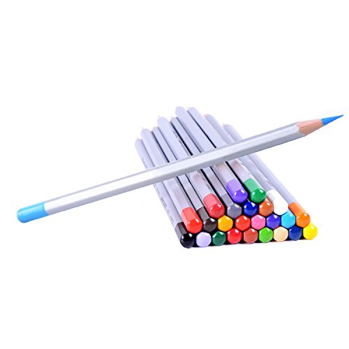 Ohuhu 36 Color Art Colored Drawing Pencils, Artist Sketch Set of 36 Assorted Colors