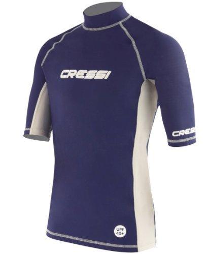 Cressi Herren Rash Guard Kurzarm-Shirt, Men's - Medium