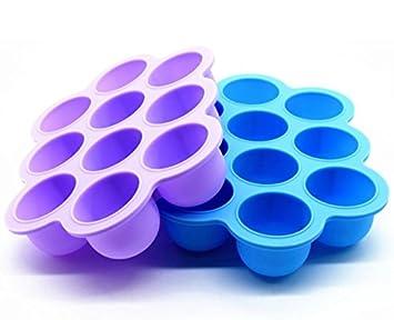 Amazon.com: LUXEHOME 2-Pack sin BPA silicona bebé ...