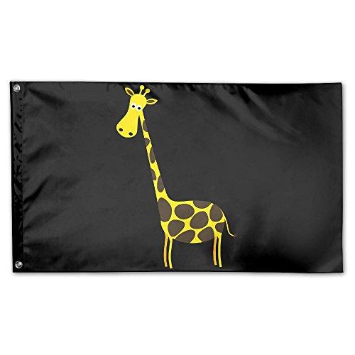 YUANSHAN Home Garden Flag Giraffe Animal.Png Polyester Flag
