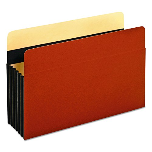 [Globe-Weis/Pendaflex Accordion File Pockets, 5.25-Inch Expansion, Legal Size, Brown, 10-Count (C1536GHD)] (Expansion File Cabinet Pocket)