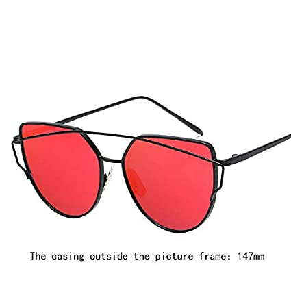 Pouybie Lunettes de soleil polaris/ées Hommes Femmes Retro Unisexe Pilote Conduite Sport Lunettes de soleil Protection UV Lunettes de Soleil en m/étal fille miroir lunettes de soleil